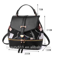 La nueva moda europea de moda bolso de hombro de fábrica de ocio directo bolso mochila de las mujeres fabricante HB77