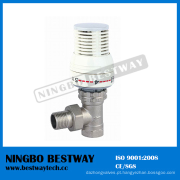 Fornecedor rápido de válvula termostática de radiador de latão (BW-R01)
