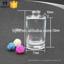venta al por mayor botella de difusor de lámina de vidrio de repuesto de aceite transparente de cilindro