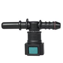 Conductive quick connector 7.89-ID6 Single way T tee
