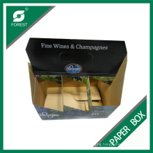 Factory Custom Six Pack Wine Bottles Boxes