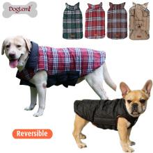 Moda ao ar livre animais de estimação roupas casacos de cachorro inverno quente casacos para cão gato
