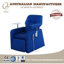 Chaise de réadaptation de chaise d'infusion intraveineuse électrique