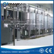 Система чистки нержавеющей стали CIP Щелочная машина для чистки на месте Промышленная чистящая установка