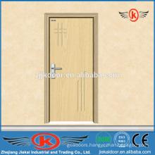 JK-P9008 MDF wooden apartment pvc door profile