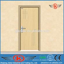 JK-P9008 MDF perfil de porta pvc de madeira