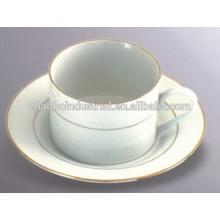 220cc тонкая чашка фарфора кофе и блюдце чайный сервиз