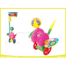 Juguetes deslizantes Elefante Push Pull Juguetes de plástico para niños