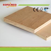 Precios calientes del proveedor de China de la venta caliente 2016 de la madera contrachapada comercial