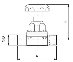 sanitary-welded-diaphragm-valve-iso-idf-kaysen