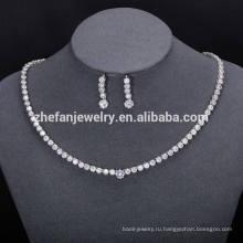 женские ювелирные изделия оптовые ювелирные изделия Индии комплект простой роскошные ювелирные изделия отображает наборы
