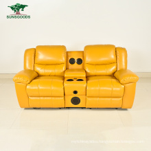PU Leather Living Room Furniture Comfortable Recliner Sofa Home Theater Sofa
