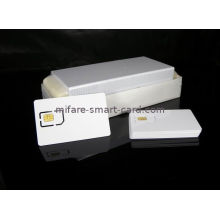 White Blank Chip Custom Contacted Smart Card, Business Cards With Iso