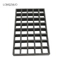 1220 * 3660mm Grated Surface FRP Grating with Clips