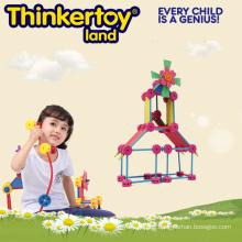 Bunte harte Plastik Mädchen pädagogisches Spielzeug
