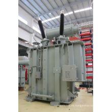 10kV de acero laminado eléctrico ARC Horno Immersed Power Transformer 2500kva