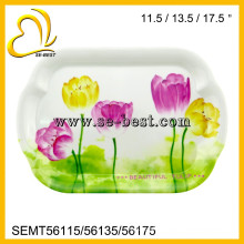 Melamine serving tray, melamine tray