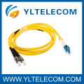 ST To LC Fiber Optic Patch Cord , Singlemode 9 Optical Fiber Patch Cord