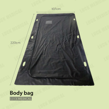 PVC plastic Body bag with handle