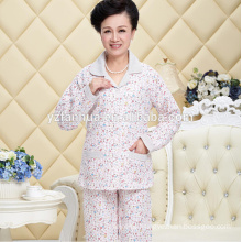 Organic Cotton Mom Warm Payamas Suit for Winter wear