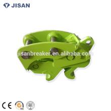 Mini bobcat excavadora excavadora accesorio acoplamiento hidráulico acoplador rápido para excavadora