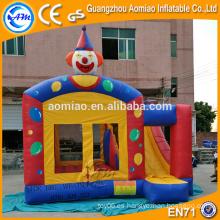 Bouncer inflable combinado al aire libre pequeño con la diapositiva
