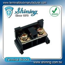 TR-40 Tipo de montagem Conector de terminais montado em trilho DIN 40 mm 40 mm