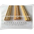 rodapé / madeira decorativo molde de teto / madeira teto projeto para decoração de casa
