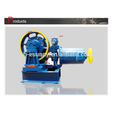 Super quality hot sale lift use geared traction machine