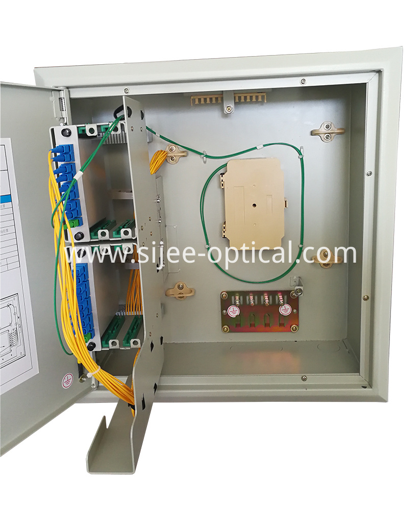 Wall Mounted Optical Splitter Distribution Box