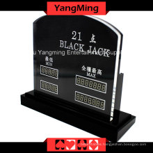 Blackjack LED Electronic Table Limit (YM-LC07)