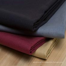 Tela de estiramento de linho / tecido de mistura de algodão terno casaco tecido