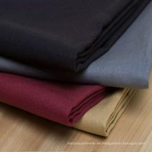 Stretch Stoff Leinen / Baumwolle Mischgewebe Anzug Mantel Stoff