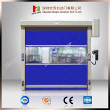Промышленная автоматическая дверь из ПВХ