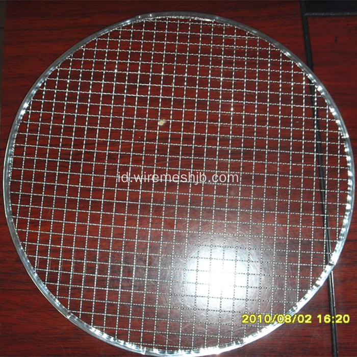 Galvanized Barbecue Wire Netting-Round Type