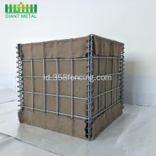 PVC Murah Dilapisi Hesco Military Barrier