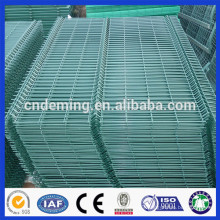 6 Gauge/2 inch*6inch/1.8m*2.4m/three curved welded wire mesh fence panel