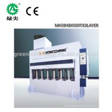 Mejor venta de máquina de prensado en caliente de madera contrachapada automática de Foshan