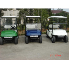 2 kursi ez go gas golf cart