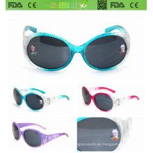 Sipmle, estilo de moda gafas de sol para niños (ks009)