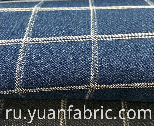 Aufar Fashion Denim Coated Soft Custom Jacquard84