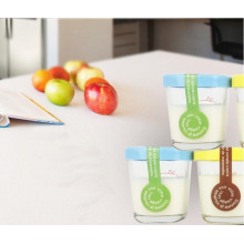 Food Packaging 150ml Pudding Glass Jar, Glass Yogurt Cup, Icecream Packaging Jar