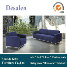 Blue Color Leather Sofa, Office Sofa, Office Furniture (8512)