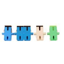 Adaptador óptico Sc de la fibra de Sm / Mm