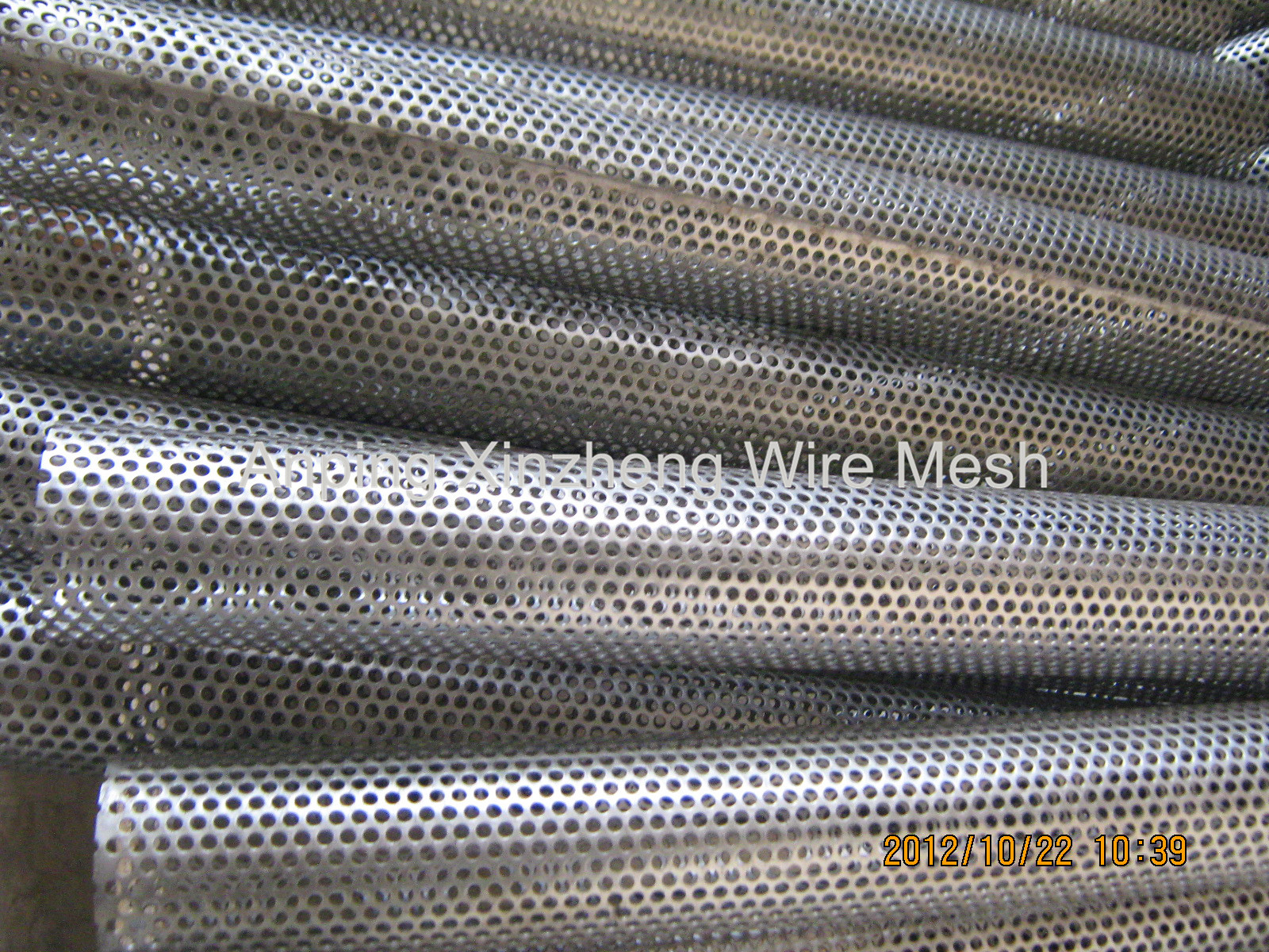 Perforated Mesh Tubes
