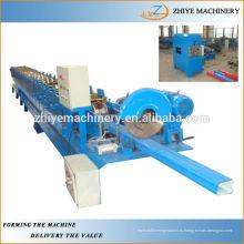 Машина для изготовления водосточных желобов из квадратной стали