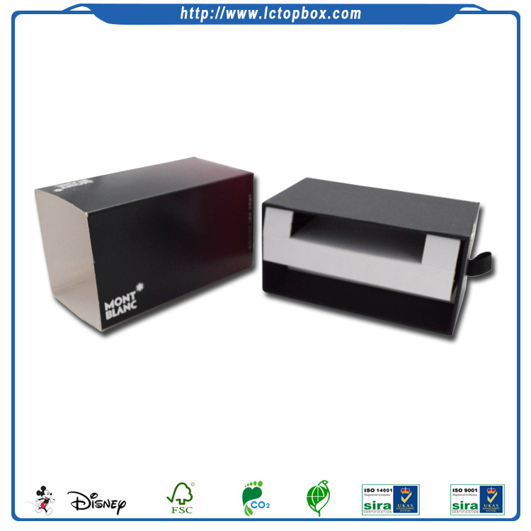 High End Male Colonge Packaging Sleeve Box