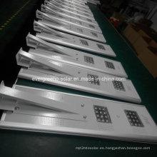 Luz de calle solar integrada todo en uno de 15W LED