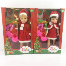 14 Inch Xmas Doll Christmas Princess Girl Toy