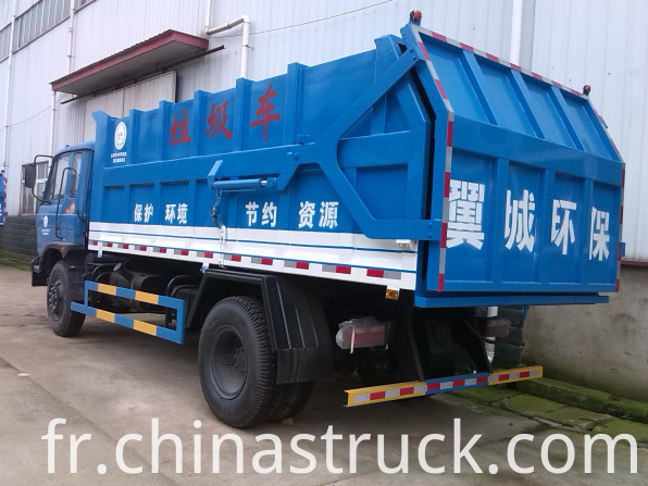 Dongfeng 12Ton tipper refuse truck